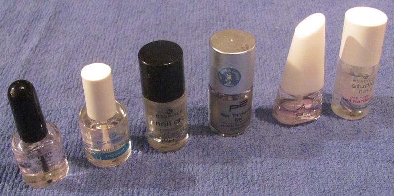 Artikelbild: Topcoats, Nailhardener, Glitter